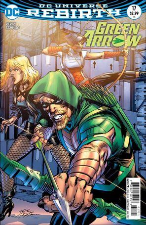 Green Arrow (2016) 17-B