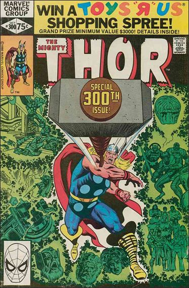 Thor (1966) 300-A by Marvel