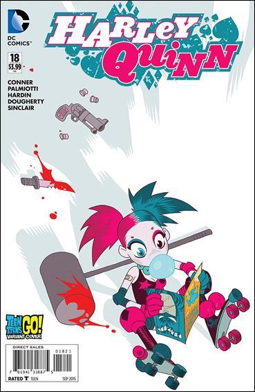 Harley Quinn (2014) 18-B by DC