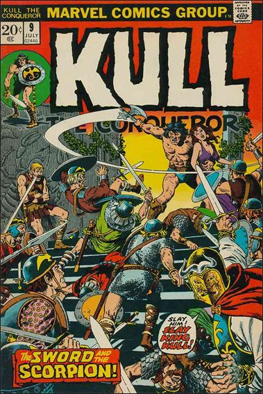 Kull the Conqueror (1971) 9-A by Marvel