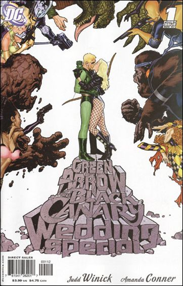 Green Arrow/Black Canary Wedding Special 1-B by DC