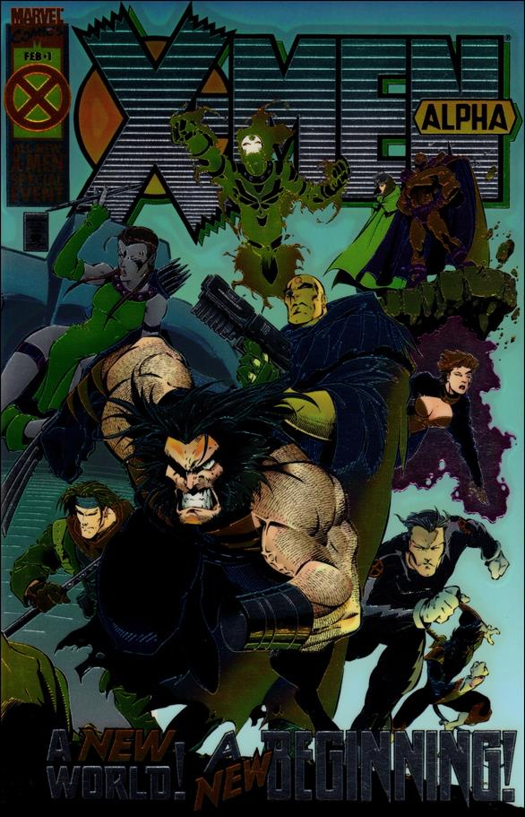 X-Men Alpha 1-A by Marvel