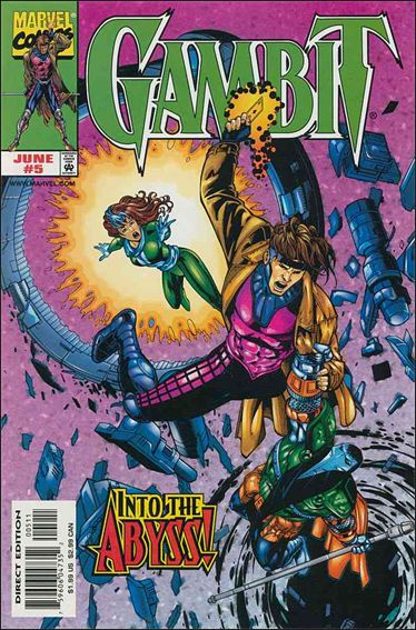 Gambit (1999) 5-A by Marvel
