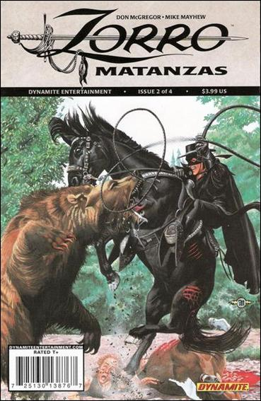 Zorro: Matanzas 2-A by Dynamite Entertainment