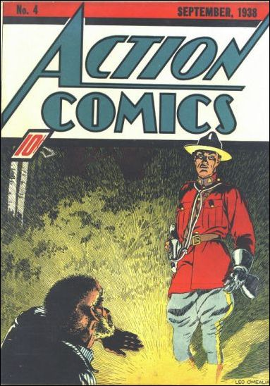 Action Comics (1938) 4-A by DC