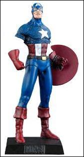 Classic Marvel Figurine Collection (UK) Captain America by Eaglemoss Publications