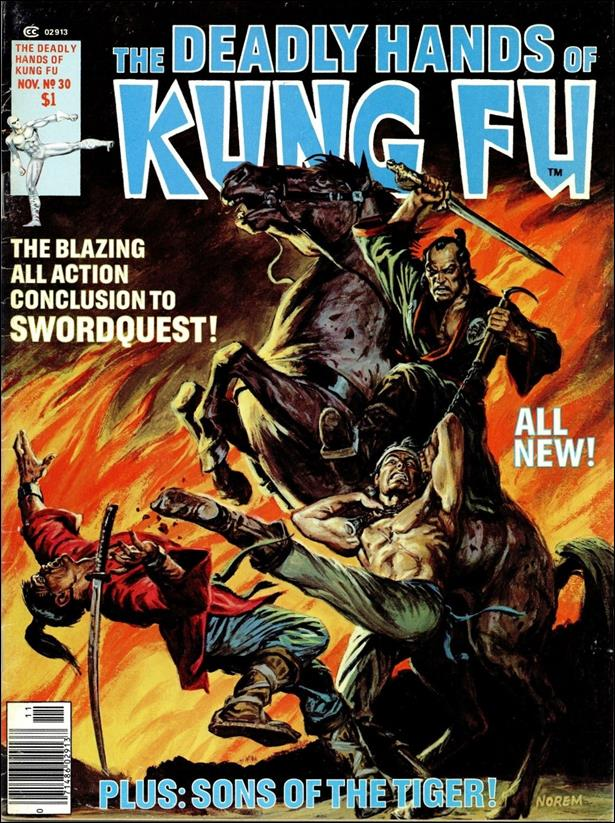 Deadly Hands of Kung Fu (1974) 30-A by Marvel