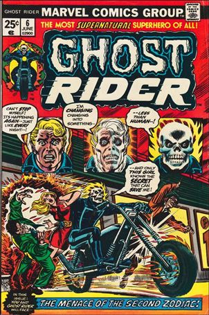 Ghost Rider (1973) 6-A
