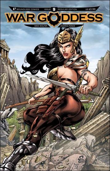 War Goddess 9-A by Boundless Comics