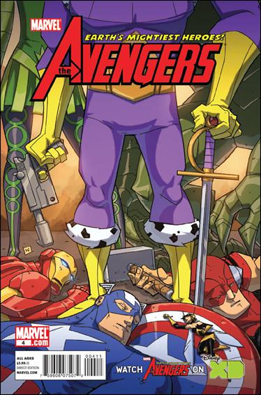 Avengers: Earth's Mightiest Heroes (2011) 4-A by Marvel