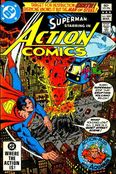 Action Comics (1938) 529-A by DC