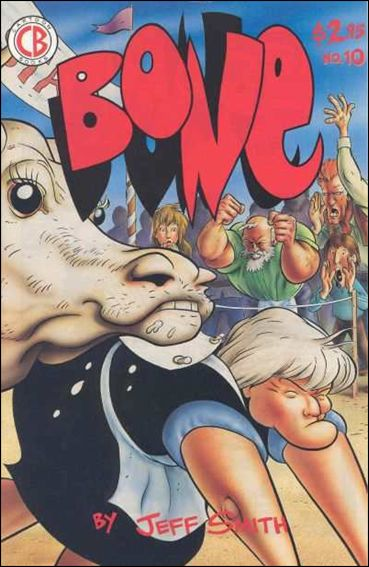 Bone (1991) 10-B by Cartoon Books