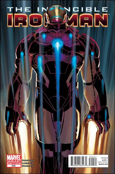 Invincible Iron Man (2008) 500-C by Marvel