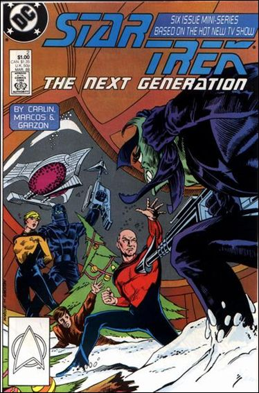 Star Trek: The Next Generation (1988) 2-A by DC