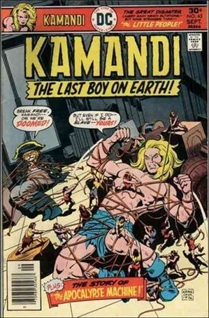 Kamandi, the Last Boy on Earth 45-A