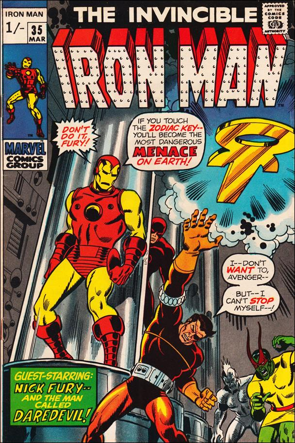 Iron Man (1968) 35-B by Marvel