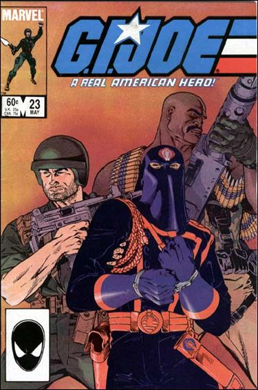 G.I. Joe: A Real American Hero 23-A by IDW