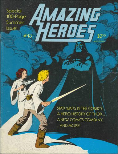 Amazing Heroes 13-A by Fantagraphics