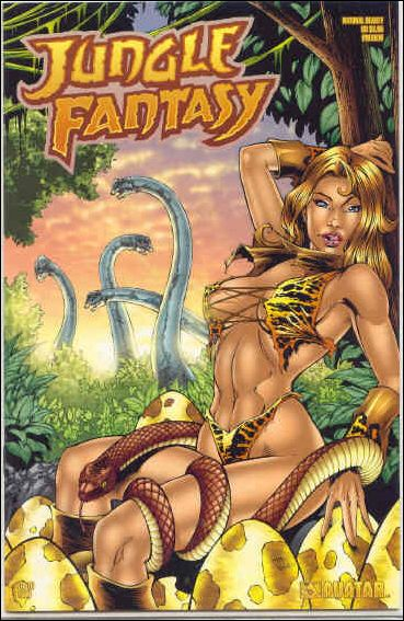 Jungle Fantasy Preview 1-E by Avatar Press