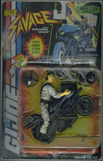"G.I. Joe: Sgt Savage and the Screaming Eagles (4"") Urban Attack Dynamite by Hasbro"