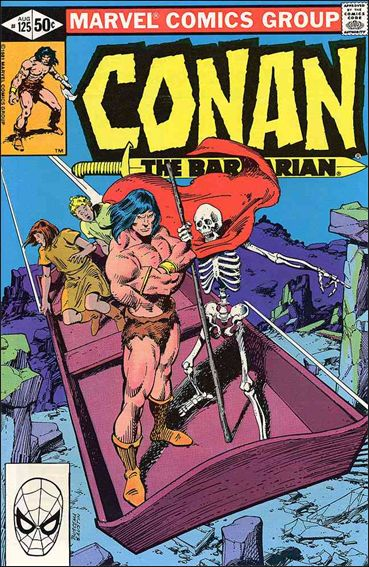 Conan the Barbarian (1970) 125-A by Marvel