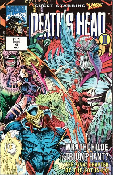 Death's Head II (UK) (1992/12) 4-A by Marvel UK