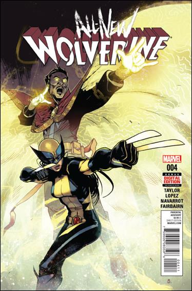 All-New Wolverine  4-A by Marvel