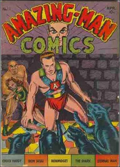 Amazing Man Comics 11-A by Centaur Publications Inc.