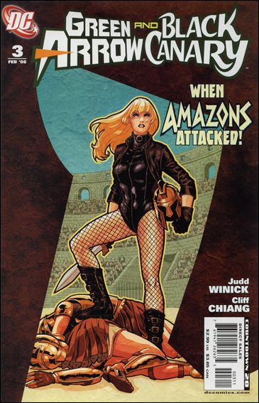 Green Arrow/Black Canary 3-A by DC