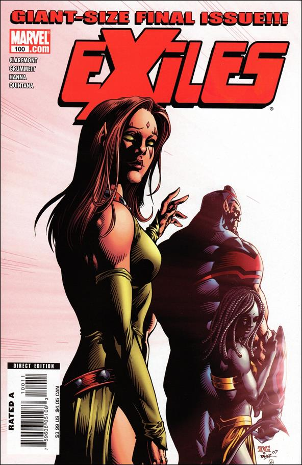 Exiles (2001) 100-A by Marvel