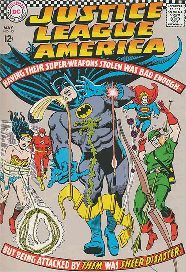 Justice League of America (1960) 53-A by DC