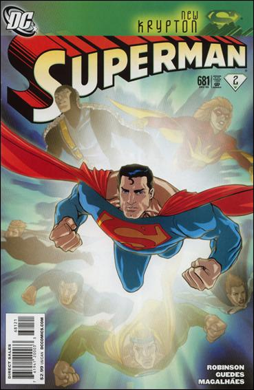 Superman (1939) 681-B by DC