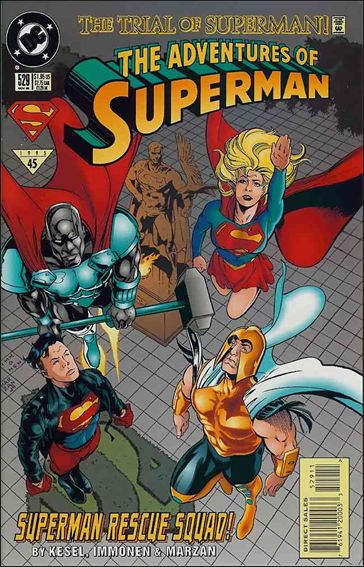 Adventures of Superman (1987) 529-A by DC