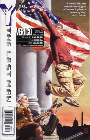 Y: The Last Man 3-A by Vertigo