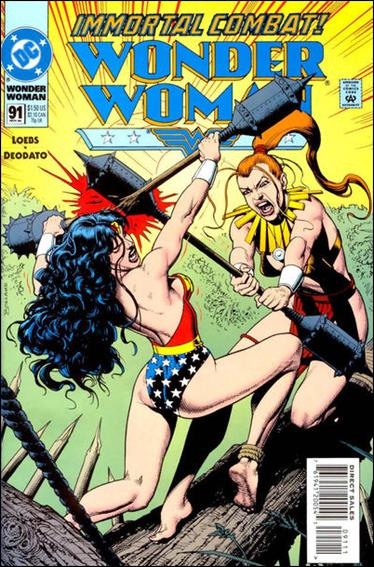 Wonder Woman (1987) 91-A by DC