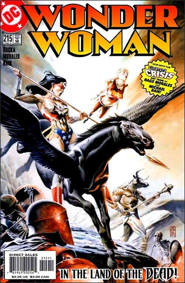 Wonder Woman (1987) 215-A by DC