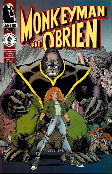 Monkeyman & O'Brien 1-A by Dark Horse