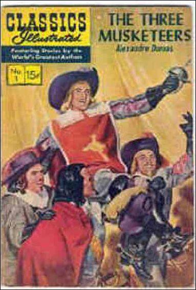 Classic Comics/Classics Illustrated 1-Q by Gilberton