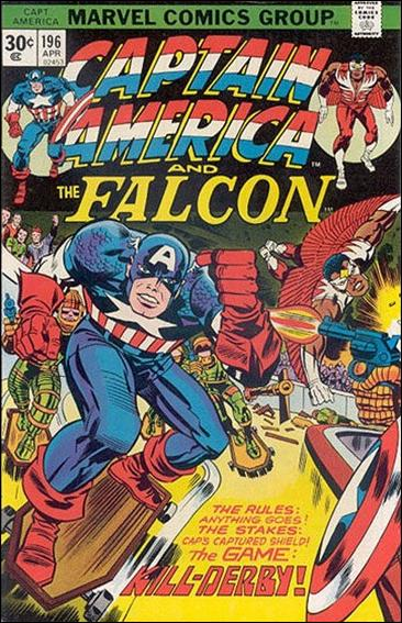 Captain America (1968) 196-B by Marvel