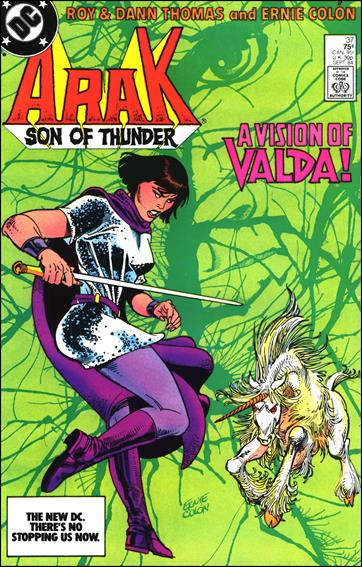 Arak Son of Thunder 37-A by DC