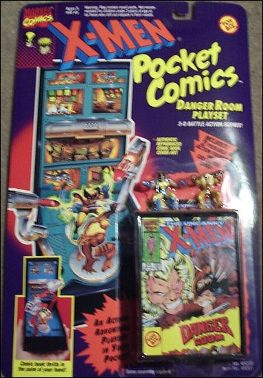 X-Men Pocket Comics Playsets Danger Room Playset by Toy Biz