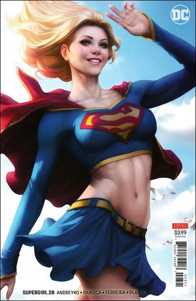 Supergirl (2016) 28-B by DC
