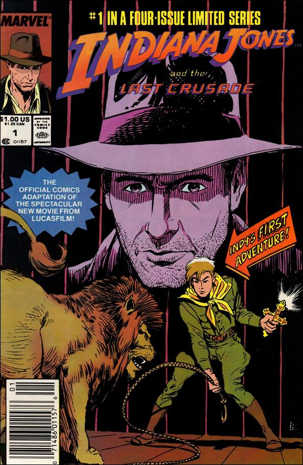Indiana Jones and the Last Crusade 1-A by Marvel