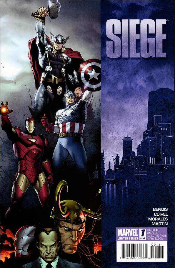 Siege (2010) 1-A by Marvel
