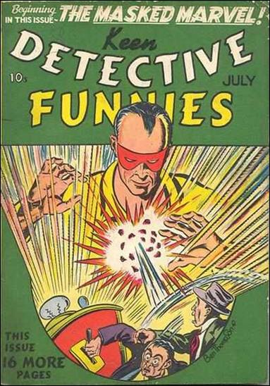 Keen Detective Funnies (1939) 7-A by Centaur Publications Inc.