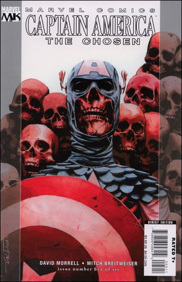 Captain America: The Chosen 5-A by Marvel