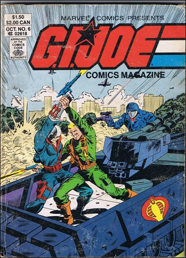 G.I. Joe: Comics Magazine 6-A by Marvel