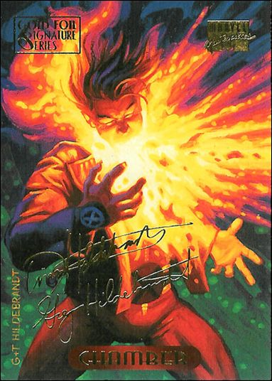 1994 Marvel Masterpieces (Gold-Foil Signature Parallel Base Set) 23-A by Fleer