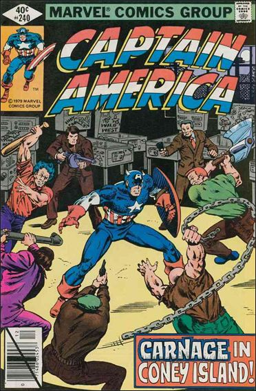 Captain America (1968) 240-A by Marvel