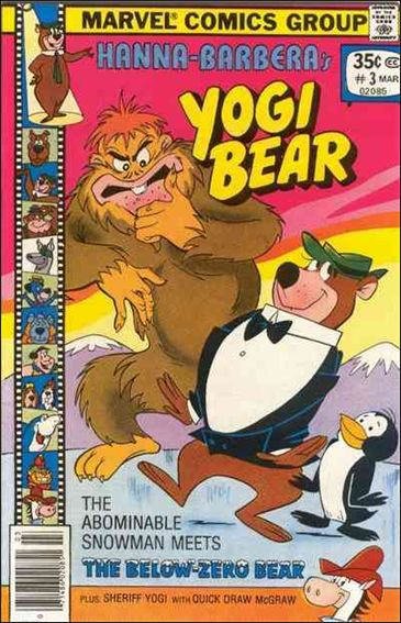 Yogi Bear (1977) 3-A by Marvel